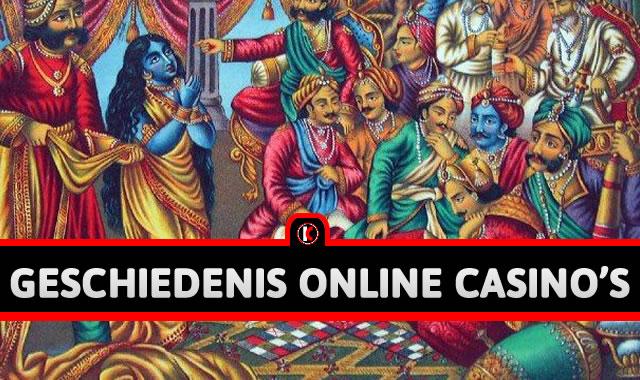 afbeelding geschiedenis van gokken in online casino