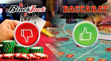 baccarat vs blackjack